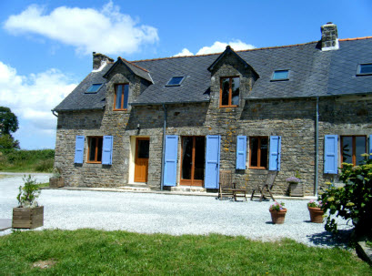 luxury gite for families in Brittany